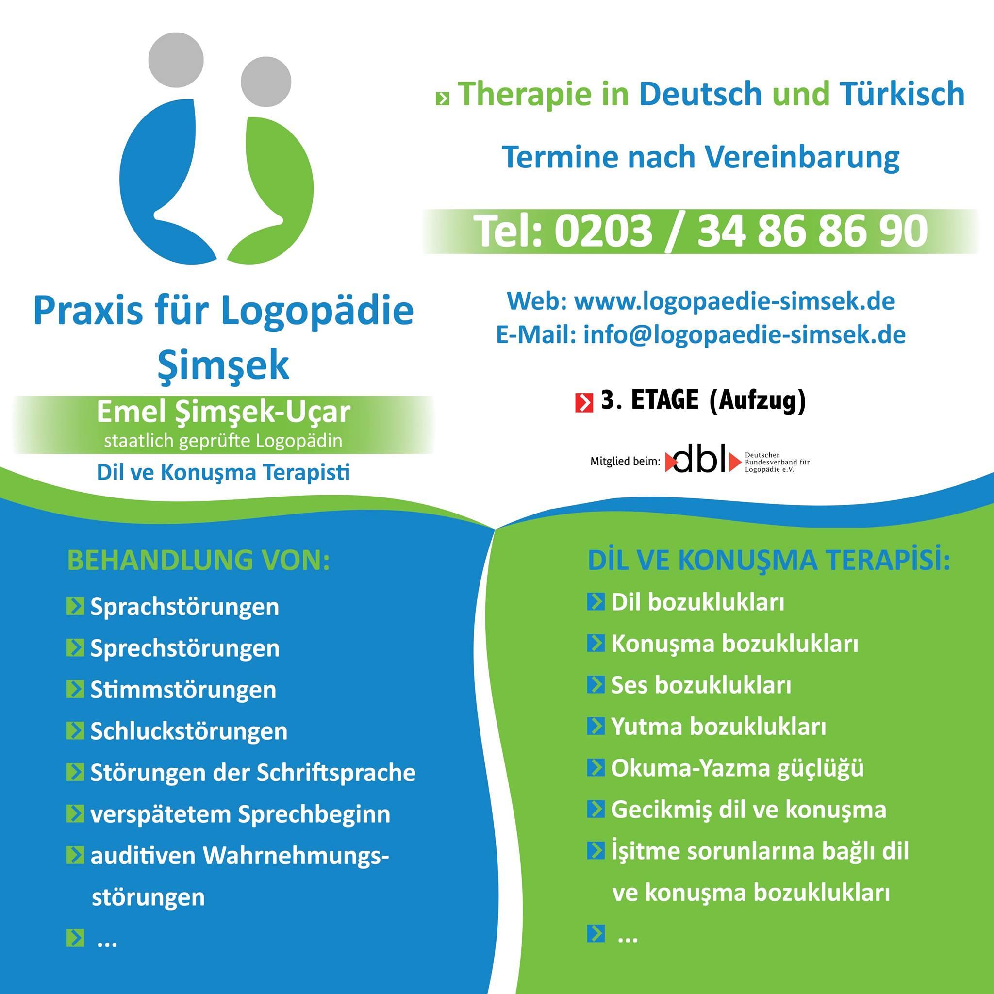 Praxis für Logopädie Şimşek